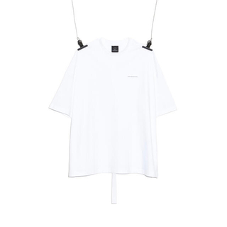 PEACEMINUSONE - PMO COTTON T-SHIRT #1 WHITE