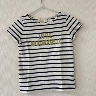 ケイトスペードニューヨーク(kate spade new york)のKate spade ボーダーTシャツ 98/3Y(Tシャツ/カットソー)