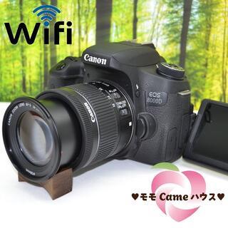 Canon - キャノン EOS 8000D☆WiFi機能搭載!高機能一眼レフ☆1642