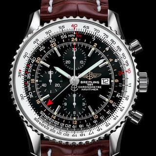 ブライトリング(BREITLING)のF348TB様分ブライトリング ナビタイマーワールド クロコDバックル(腕時計(アナログ))