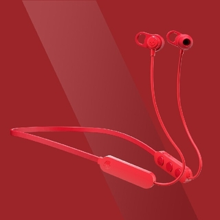 スカルキャンディ(Skullcandy)の【かよ☆様専用】Jib+ RED ワイヤレスイヤホン 付属品あり(ヘッドフォン/イヤフォン)
