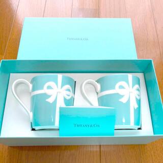 Tiffany & Co. - 美品 ティファニー ペアマグカップ