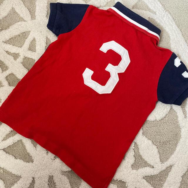 POLO RALPH LAUREN(ポロラルフローレン)のラルフローレン  キッズ/ベビー/マタニティのベビー服(~85cm)(シャツ/カットソー)の商品写真