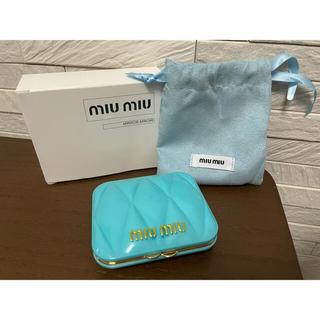 miumiu - MIUMIU ミラー ブルー