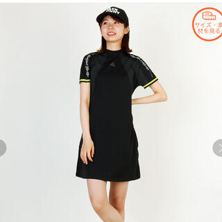 アディダス(adidas)のアディダス ワンピース ゴルフウェアー Mサイズ(ウエア)
