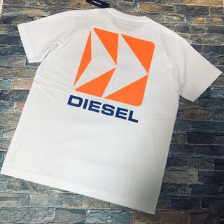 DIESEL - 【新品未使用】DIESEL ディーゼル/クルーネック Tシャツ カットソー L