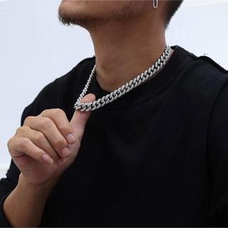 喜平ネックレス マイアミ50㎝ ブレスレットシルバー同梱