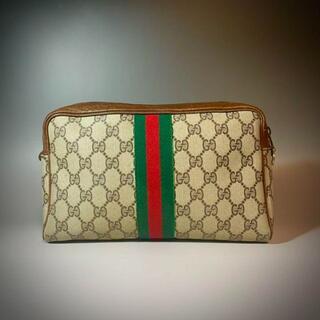 グッチ(Gucci)のGUCCI バッグ セカンドバッグ クラッチバッグ GG スプリーム 柄(ウエストポーチ)
