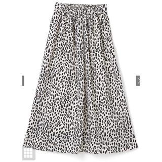 グレイル(GRL)のレオパード柄フレアスカート Mサイズ(ロングスカート)