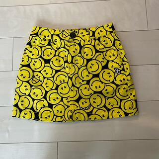 パーリーゲイツ(PEARLY GATES)のパーリーゲイツ  ニコちゃんスカート サイズ00 ゴルフウェアー 新品タグ付き(ウエア)