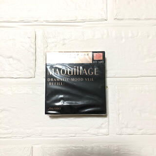 マキアージュ(MAQuillAGE)の新品❣️マキアージュ ドラマティックムードヴェール レフィル 8g RD100(チーク)