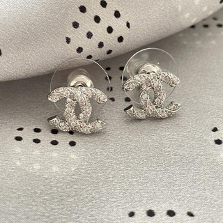 CHANEL - CHANEL pierce 0012 silver