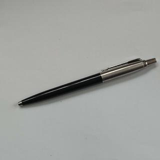 パーカー(Parker)のPARKERボールペン(黒)  Made in USA 生涯保証カード付き a(ペン/マーカー)