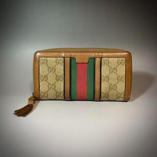 グッチ(Gucci)のGUCCI 財布 長財布 シェリーライン(長財布)