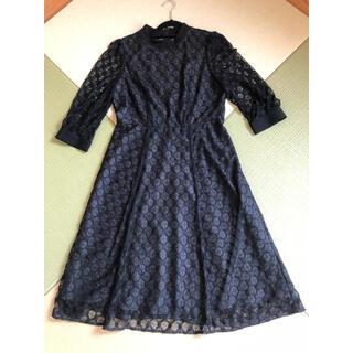 ケティ(ketty)のKetty クラシカル ワンピース ドレス ブラック 38(ひざ丈ワンピース)