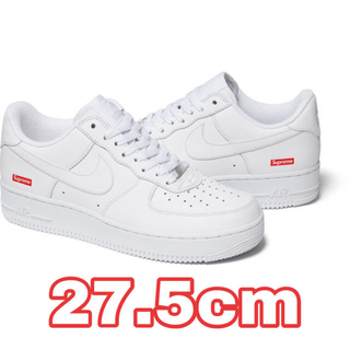 Supreme - 27.5cm ホワイト Supreme Nike Air Force 1 Low