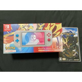 Nintendo Switch - スイッチライト、モンハンライズ