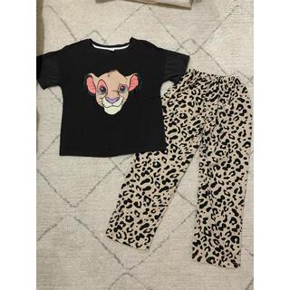 ディズニー ライオンキングのパジャマ