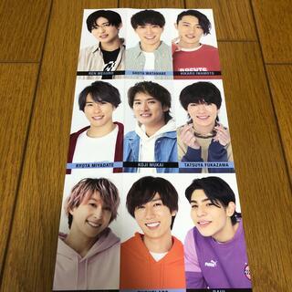 Myojo 2021年6月号 オールスターメッセージカード SnowMan(アイドルグッズ)