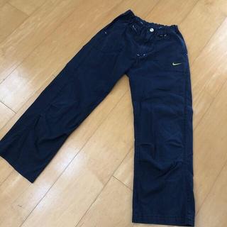 ナイキ(NIKE)のNIKE 綿 パンツ 140㎝ 紺(パンツ/スパッツ)