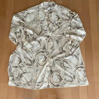 ティティベイト(titivate)のtitivave オーバーサイズシアーシャツ(シャツ/ブラウス(長袖/七分))