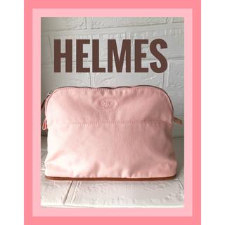 Hermes - HERMES エルメス ボリード ポーチ ピンク