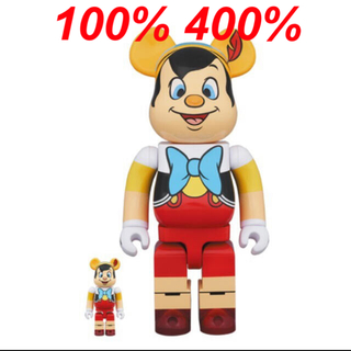 MEDICOM TOY - BE@RBRICK Pinocchio ベアブリックピノキオ 100%&400%