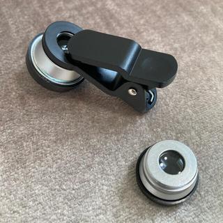 【未使用】スマホ用カメラレンズ クリップ式レンズ 広角レンズ