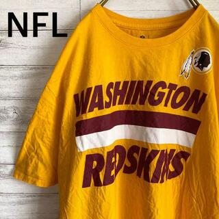 NIKE - ナイキ NIKE×NFL Tシャツ 半袖 レッドスキンズ メンズ2XL黄色 古着