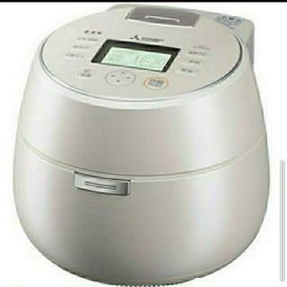 ミツビシデンキ(三菱電機)の三菱電機 IH炊飯器 本炭釜 5.5合炊き 羽釜タイプ  NJ-AWA10-W(炊飯器)