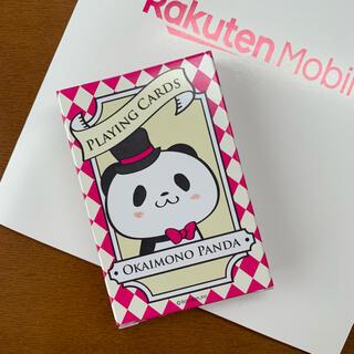 ラクテン(Rakuten)の楽天モバイル お買い物パンダ トランプ(キャラクターグッズ)