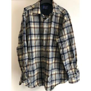 ペンドルトン(PENDLETON)のペンドルトン チェックウールシャツ  L(シャツ)