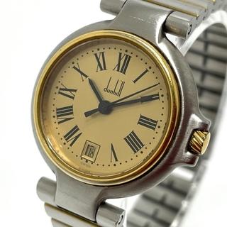 ダンヒル(Dunhill)のダンヒル ミレニアム レディース腕時計 シルバー SS×GP(腕時計)