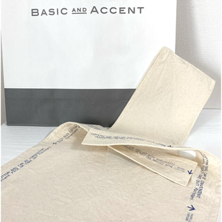 #08 BASIC AND ACCENT 太幅ワンハンドル バッグ期間限定販売
