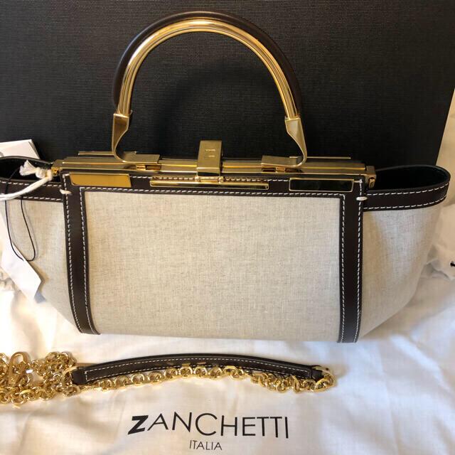 L'Appartement DEUXIEME CLASSE(アパルトモンドゥーズィエムクラス)のZANCHETTI AMLETO 20 ポイントレザー 3WAY バッグ レディースのバッグ(ハンドバッグ)の商品写真