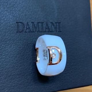 Damiani - ダミアーニ ホワイトセラミック ダイアモンドリング