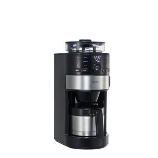 siroca コーン式全自動コーヒーメーカー SC-C122(コーヒーメーカー)