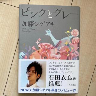 ニュース(NEWS)のピンクとグレー(文学/小説)