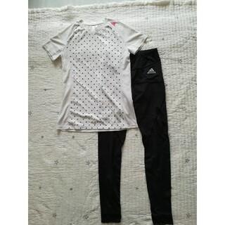 アディダス(adidas)のアディダス Tシャツ レギンス セット(セット/コーデ)