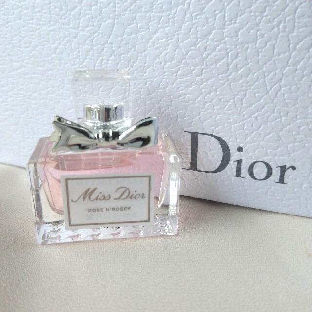 Dior(ディオール)の新品未使用♡Dior ミスディオール ローズ&ローズ オードゥトワレ 5ml コスメ/美容の香水(香水(女性用))の商品写真