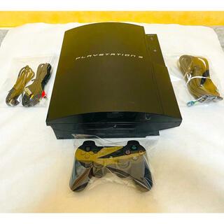 プレイステーション3(PlayStation3)のPS3 本体 初期型 CECHB00 すぐに遊べるセット 動作確認済み (家庭用ゲーム機本体)