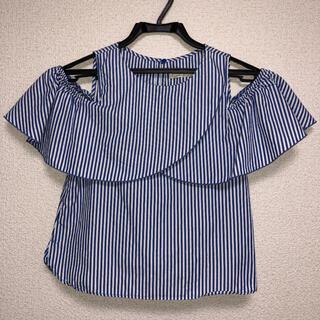 ザラキッズ(ZARA KIDS)の♡ZARA kids カットソー フリルブラウス 140cm(Tシャツ/カットソー)