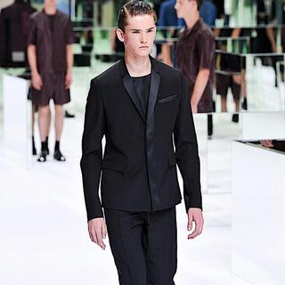 ディオールオム(DIOR HOMME)のDior Homme サテンカットソー(Tシャツ/カットソー(半袖/袖なし))