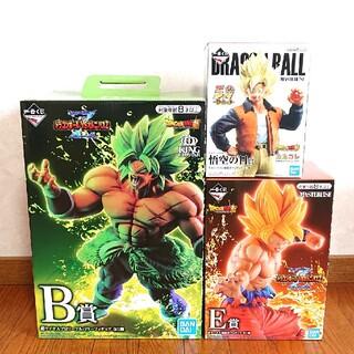 BANDAI - ドラゴンボール   ⭐      一番くじ    3点セット
