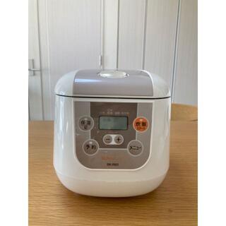 炊飯器 3.5合 BONA BONA ボナボナ CCP BK-R60-WH(炊飯器)