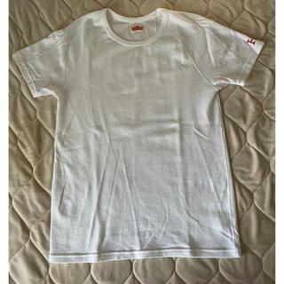 HOLLYWOOD RANCH MARKET - ハリウッドランチマーケット ストレッチフライス半袖Tシャツ