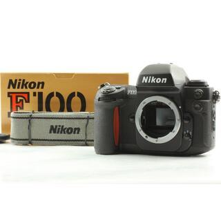 ★箱付き・美品★ Nikon ニコン F100 フィルムカメラ