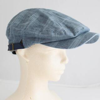 VAN Jacket -  《ケント》新品 【春夏向け】麻ハンチング帽子 58サイズ 調整可