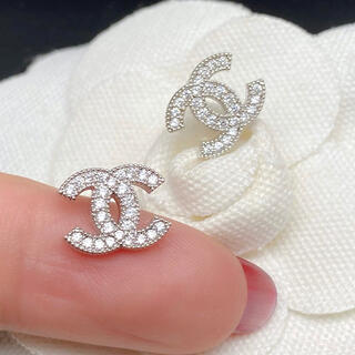 CHANEL - CHANEL pierce 0016 silver