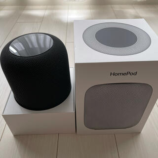Apple - 【美品】HomePod スペースグレイ